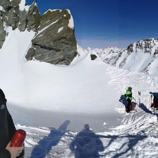 Panorama auf der Chalaunspitze